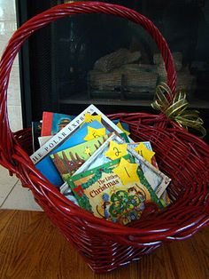 List of books for Christmas advent. Cute idea for kids!