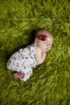 Newborn Floral Gauze Wrap with Flower Headband by PetuniaandIvy, $23.00