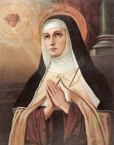 """Here are few free places to listen or read some of this great saint works and even a sweet coloring page for the beautiful feast day of St. Teresa of Avila, tomorrow, Oct. 15. """"It is love alone that gives worth to all things."""" – St. Teresa of Avila"""