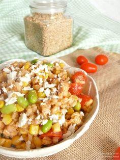 A Summertime Barley Salad