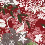 Basic Grey Blitzen Holiday Collage Red [MODA-30290-11] - $7.95 : Pink Chalk Fabrics is your online source for modern quilting cottons and sewing patterns., Cloth, Pattern + Tool for Modern Sewists