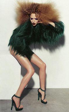 Feathers, Josephine Skriver x Bo Egestrom v