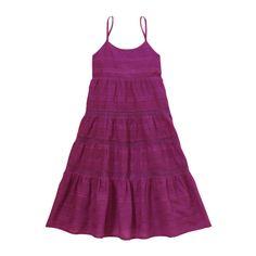 Kid Girls' Tiered Maxi Dress
