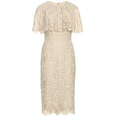 Dolce & Gabbana Capelette Dress ($2,750) ❤ liked on Polyvore