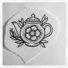 teapot tattoo - Google SearchTeapot Drawing Tumblr