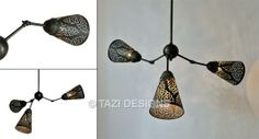 Contemporary Moroccan Lighting on Pinterest