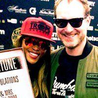 Rapper  Eve weds Maximillion Cooper in Ibiza. Congrats to Eve! #interracial #celebrities