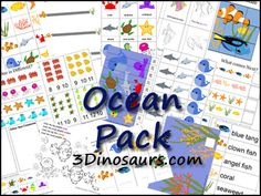 ocean beach, ocean preschool pack, beach activities, ocean unit, teacher freebies, school kids, ocean themes, ocean life, ocean activities