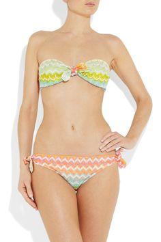 Missoni bikini.
