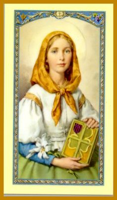 Saint Dymphna was the daughter of a pagan Irish king and his Christian wife in the 7th century AD. She was murdered by her father. St. Dymphna, patroness of those afflicted with mental and emotional illness