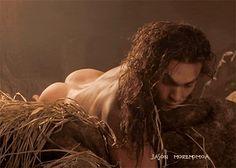 Jason Momoa, Conan the Barbarian bare a$$ gif