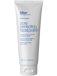 Allure readers give two thumbs up to Bliss Pore Perfecting Facial Polish. $30 http://www.lovelyskin.com/details.asp?PID=122645