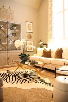 Glam and rustic! Love it!