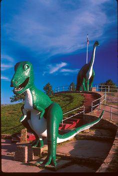Dinosaur Park!  Rapid City, South Dakota