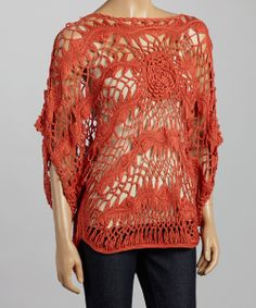 Crochet Knit Top - Boho & Relaxed