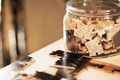 10 Unique Ideas for Wedding Guest Books : Puzzle wedding guest book, guest book alternatives, guest books, puzzle pieces, guestbook, wedding guests, memory lane, jigsaw puzzles, unique weddings