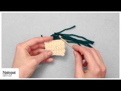 Natalie of Nattypat Crochet demonstrates how to embellish crochet amigurumi toys, or any needlework, with the simple latch hooking technique. —Crochet Patterns & More: http://NattypatCrochet.com