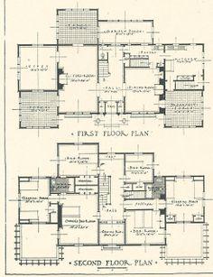 Mr. Blandings' House Floor plans up close