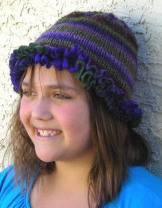 ruffle hat for kids