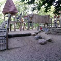 Spielplatz (German playgrounds are so much better than American ones, it's ridiculous)