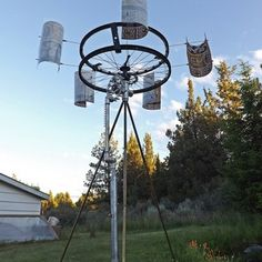 DIY Wind-Powered Wat