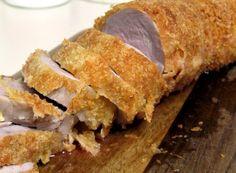 sliced breaded tenderloin