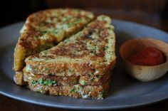 Crispy Salt and Pepper French Toast    21 Ways To Have Breakfast For Dinner