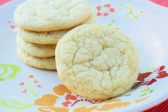 Sarah Bakes Gluten Free Treats: gluten free lemon dream cookies