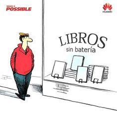 "Libros ""sin batería"""