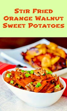 "Louise tried our Stir Fried Orange Walnut Sweet Potatoes and writes simply,""Family loved it! "" I'll bet yours does too. You can never have too many recipes for great side dishes. orang walnut, walnut sweet, side dish, sweet potato"