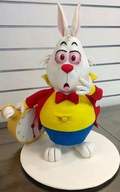 Alice In Wonderland Rabbit Cake