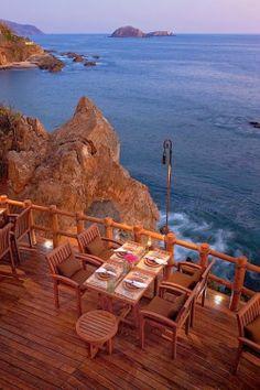 Seaside Cafe ~ Zihuatanejo, Mexico