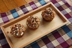 """Almond Joy"" Espresso Banana Muffins. Food + caffeine in one go!"