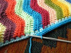 Edge for Ripple Blanket