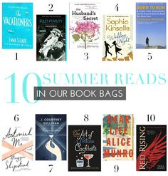 10 Summer Reads In Our Book Bags | theglitterguide.com