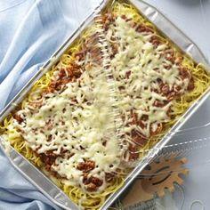 Baked Spaghetti from Taste of Home