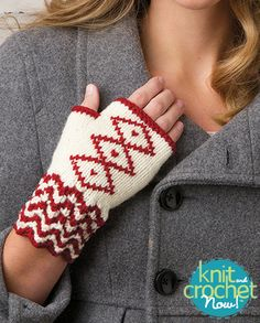Season 5 Free Knitting Patterns (Knit and Crochet Now!) on Pinterest Scarf ...