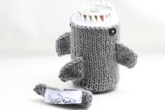 Shark Week - Monster Shark - for your Soda Can - Silver Grey - was featured in ImbibeMagaz... $20