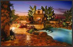 Swimming Pool Ideas for garden or backyard