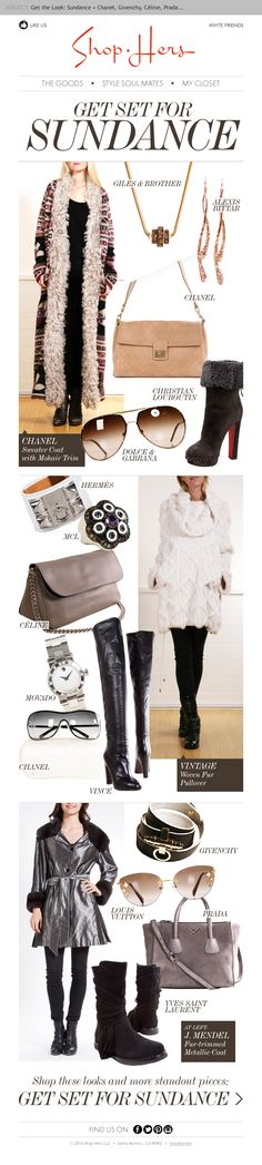 GET THE LOOK: SUNDANCE