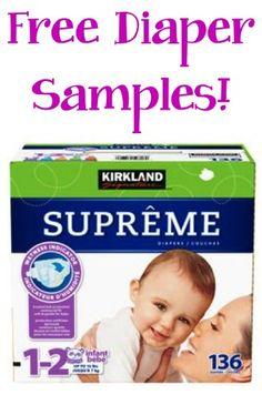 FREE Diaper Samples!! {for Costco members} #baby #diapers