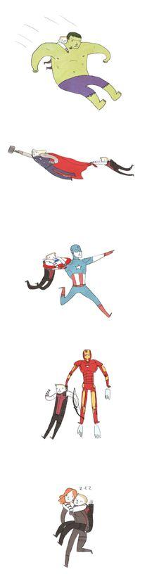 Oh Hawkeye. ♥