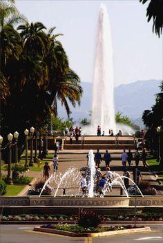 San Diego Balboa Park Fountains
