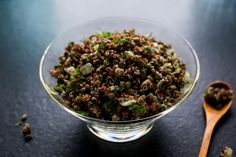 Quinoa & Lentil Pilaf, from NYTimes Recipes for Health. Elimination diet-friendly! (Maybe minced carrot instead of dill?)