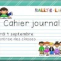 Cahier journal de la rentrée ! CE2