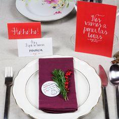 Tutorial Menú y sitting para las comilonas que nos esperan en Navidad Mr.Wonderful. Puedes descargarlo en http://muymolon.com