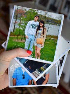 Pesonalized Photo Coasters DIY