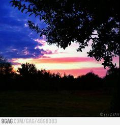 American Flag Sky