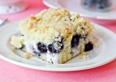Blueberry Cream Cheese Coffee Cake! I  love anything with cream cheese!