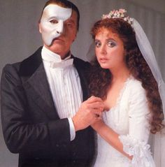 Michael Crawford and Sarah Brightman